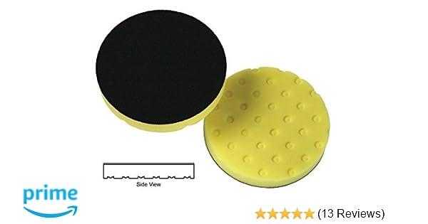 3-White, 3-Orange, 5.5 Lake Country CCS Smart Pads DA 5.5 inch Foam Pad