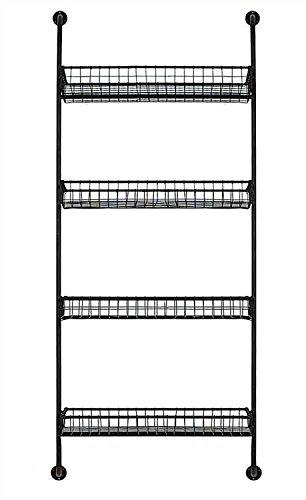 Creative Co-Op Metal 4-Tiered Wall Shelf (Tiered Wall Shelves)
