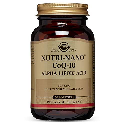 Solgar - Nutri-Nano CoQ-10 Alpha Lipoic Acid Supplement, 60 Softgels