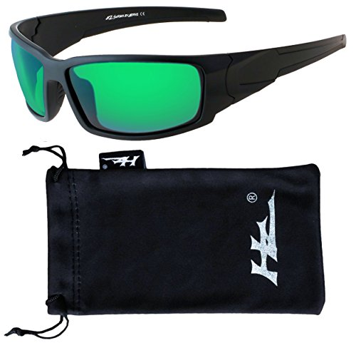 Polarized Sunglasses for Men - Premium Sport Sunglasses - HZ Series Aquabull (1.1 Mm Polarized Lens)