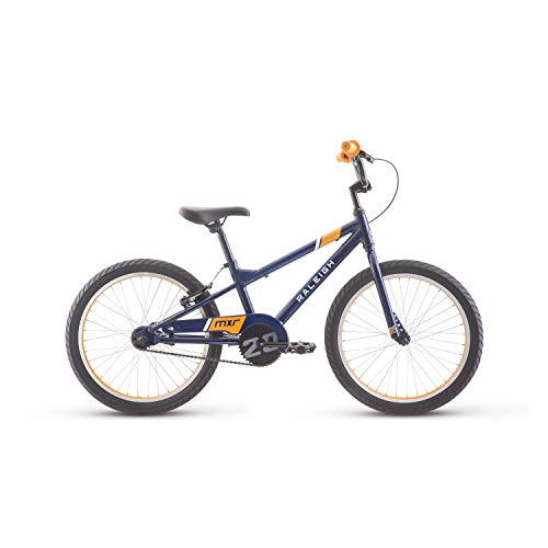 RALEIGH Bikes MXR 20 Kids BMX Bike for Boys Youth 4-8 Years Old, Blue