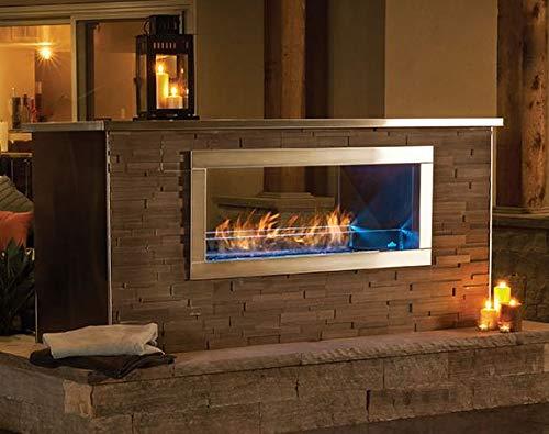 Napoleon Gas Vent Free Fireplace - Galaxy See Thru ()
