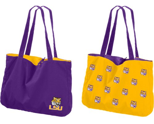 NCAA Louisiana State Fightin Tigers Reversible Tote