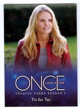 Jennifer Morrison is Emma Swan trading card Once Upon A Time 2014 Cryptozic ABC #31 Autograph Warehouse