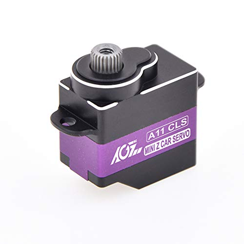 - AGFrc Mini-z Car Micro Servo - 11g High Speed 0.065sec Ti Gear Digital-Servo for Mini Z Car