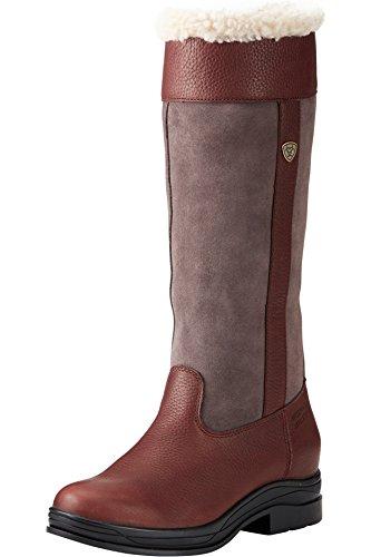 marrone Pelliccia da donna Ariat Windermere stivali campagna H20 scuro per Hwx4WWC7qU