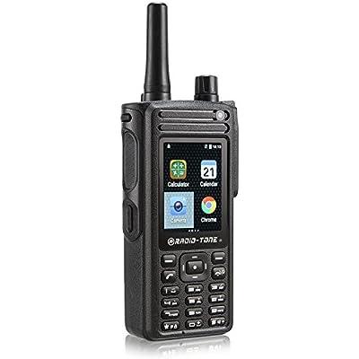 Radio-tone RT4 LTE Android 6 0 Walkie Talkie Wifi PTT Zello Azetti Smartphone Interphone Communication Service
