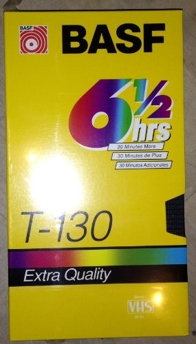 basf-t-130-6-1-2-hour-extra-quality-blank-vhs-tape-video-cassette-recording-tape