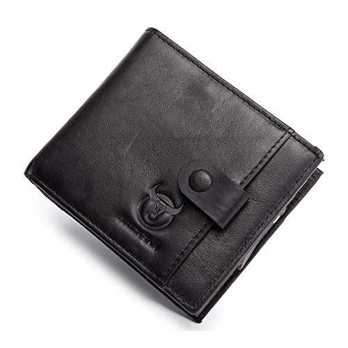 À Black Loisirs Rzl Cuir Pour Pinces Croisé Billets Portefeuille En Porte monnaie De Avec Multifonctionnel w656zqR