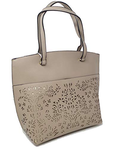- Simply Noelle Vegan Faux Leather Illuminating Collection Shoulder Bag (Birch) HB2013