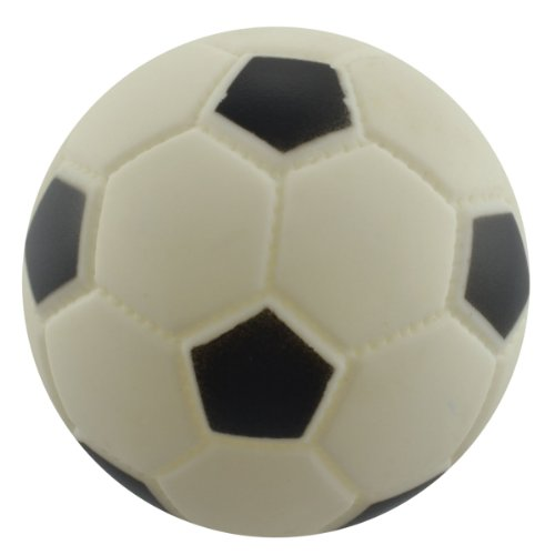Dogloveit Pet Puppy Cat Dog Toys Small Soccer Ball Rubber To