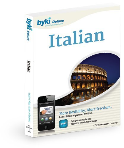 Amazon. Com: italian byki language tutor software & mp3 audio.