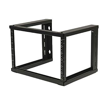 Amazon.com: NavePoint 6U Wall Mount Open Frame 19\