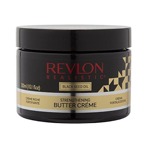 Strengthening Creme (Revlon Realistic Black Seed Oil Strengthening Butter Créme Leave-in Conditioner 10.1 Oz (300ml))