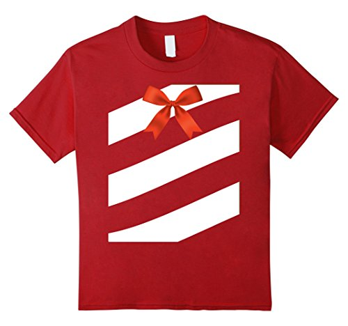 Hit Girl Costume Spirit Halloween - Kids Funny Candy Cane Costume Christmas Halloween T-Shirt Gift 6 Cranberry