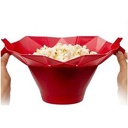 Amyove Silicone Microwave Popcorn Maker,Popcorn Popper Popco