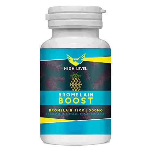 BROMELAIN Boost - 1200 GDU/g - Digestive Enzymes, 500 mg - Supports Healthy Digestion, Joint Health, Nutrient Absorption - 100% Natural, GMP Certified, Gluten Free Veggie Capsules | Made in USA