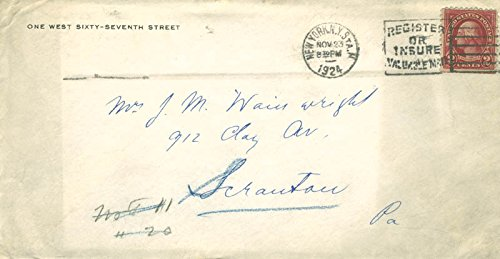 Ernst Fuchs Autograph Letter Signed 11/23/1924