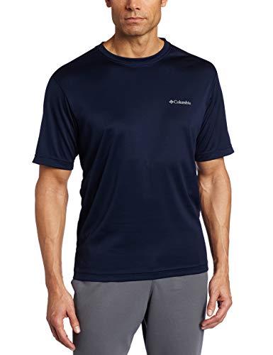 (Columbia Men's Regular, Collegiate Navy, Large)