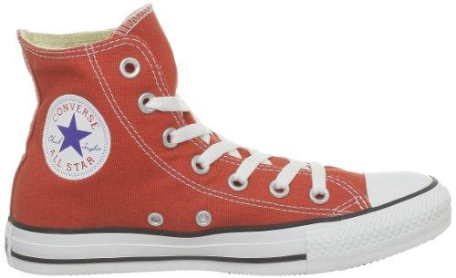 Converse Chuck Taylor All Star Speciality Hi, Zapatillas Altas de Tela Unisex Adulto Rojo (Rot Clay)