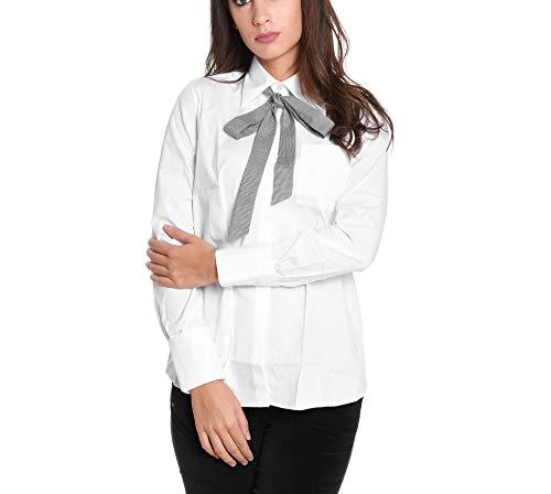 Ncwa137570sormb001 Bianco Donna Camicia Cotone Fay EOwYq1SxvF