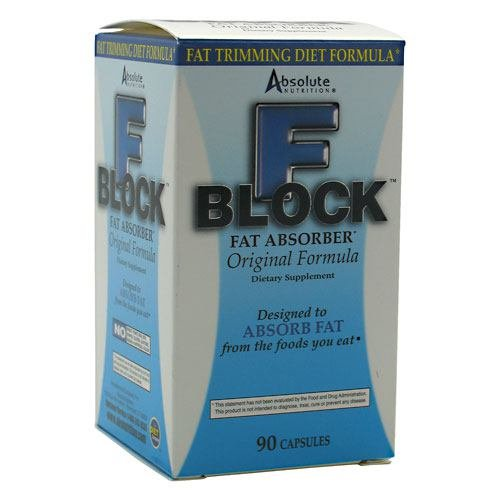 Absolute Nutrition Fblock W/Chitosan 90 Cap by Absolute Nutrition