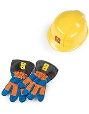 Simba Dickie 7600360162 The Builder Bob de Bouwer Handschoenen + Helm