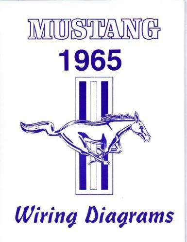 1965 FORD MUSTANG COMPLETE 16 PAGE SET OF FACTORY ELECTRICAL for sale  Delivered anywhere in USA