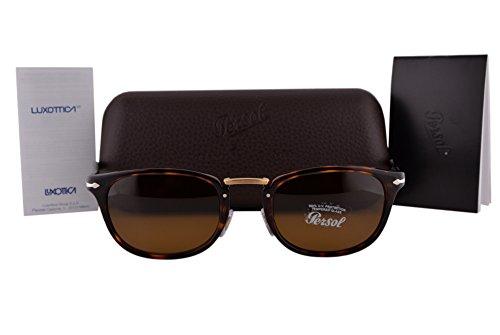Persol PO3127S Sunglasses Havana w/Brown Lens 2433 PO3127 For - Po3105s Persol