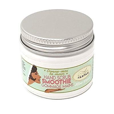 Un Air d'Antan Hands Scrub Handpeeling – Creme mit Bimsstein angereichert + Komplexe Olivenöl und Süßmandelöl – Aloe…