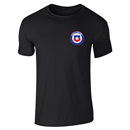 Chile Futbol Soccer Retro National Team Black L Short, used for sale  Delivered anywhere in USA