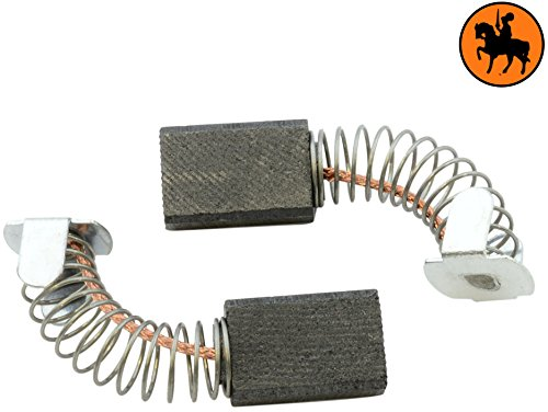 Buildalot Specialty Carbon Brushes 0836_Makita_9924DB for Makita 9924DB Powertools - With Spring, Cable and Connector - Replaces 181030-1 & CB-100