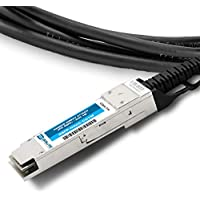 Brute Networks JG326A-BN - 1m QSFP+ to QSFP+ Passive Copper Cable (Compatible with OEM PN# JG326A)