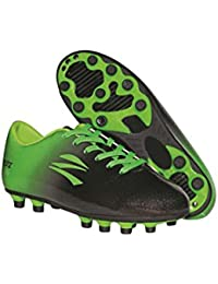 Wide Traxx Black/Lime Green Soccer Cleat Adult