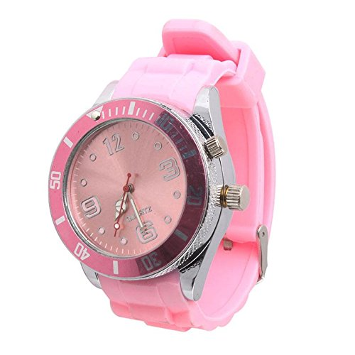 CrazyDeal spontaneous unaffectedWrist Watch Style Grinder Wheel Heavy Spike Cigarette Tobacco Herb Crusher Metal,Pink (Tobacco Grinder Watch compare prices)