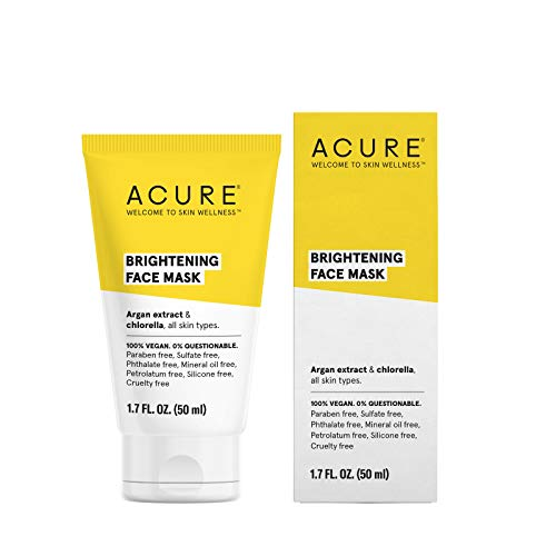 Brightening Mask - ACURE Brightening Face Mask, 1.7 Fl. Oz. (Packaging May Vary)