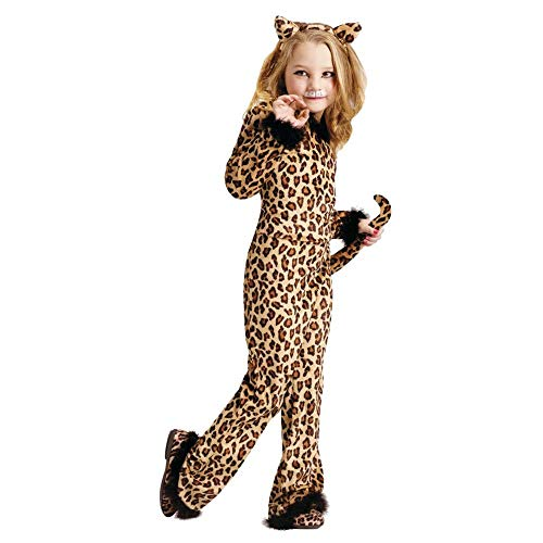 Pretty Leopard Girl's Costume Medium]()