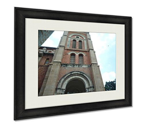 Ashley Framed Prints Notre Dame Cathedral, Wall Art Home Decoration, Color, 34x40 (frame size), AG5921674 by Ashley Framed Prints