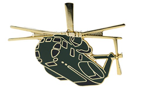 Sujak Military Items CH-53 Sea Stallion Heavy Lift Helicopter 1 3/4 Inch Pin HON16073