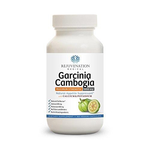 Rejuvenation Medical Garcinia Cambogia Maximum Strength 1600mg