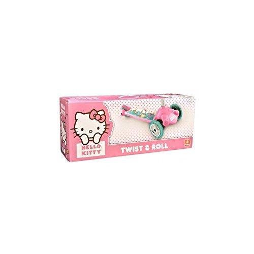 Patinete 3 ruedas Twist & Roll Hello Kitty: Amazon.es ...