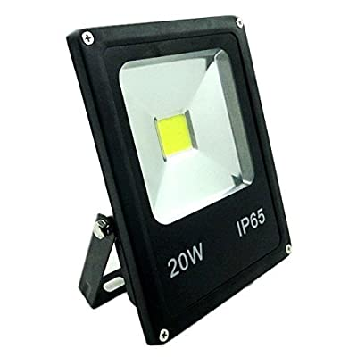 GLW? 50w Outdoor LED Flood Lights Security Light, Waterproof Floodlight Lamp 3750lm 370w Halogen Bulb Equivalent