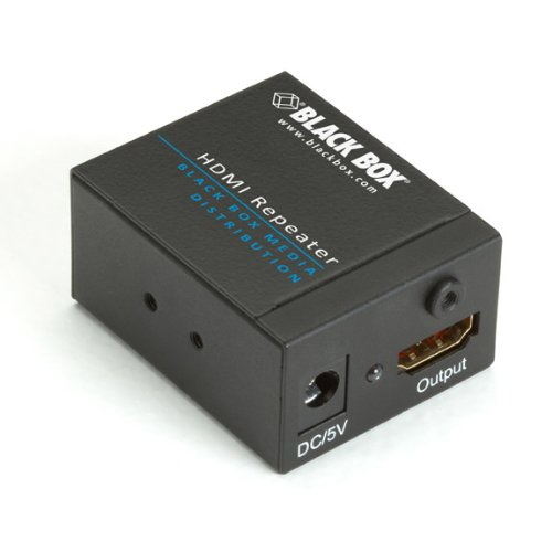 "Black Box Corporation - Black Box Hdmi Repeater - 340 Mhz ""Product Category: Accessories/Signal Splitters/Amplifiers"" from Black Box"