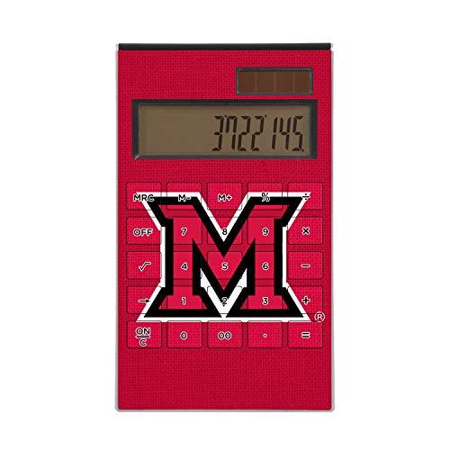 (Keyscaper UM Miami (Ohio) Redhawks Solid Desktop Calculator)
