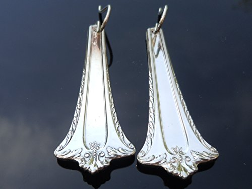 International Admiral Earrings Silverplate 1918 (International Vintage Silverplate)