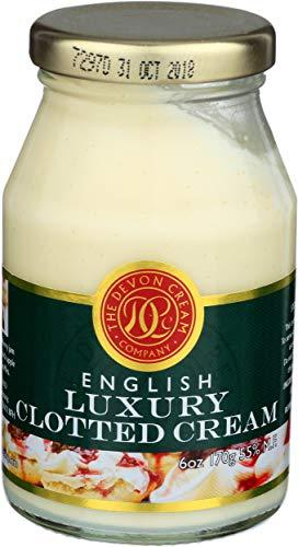 The Devon Cream Company Clotted Cream 6oz (Best Creme Fraiche Recipe)