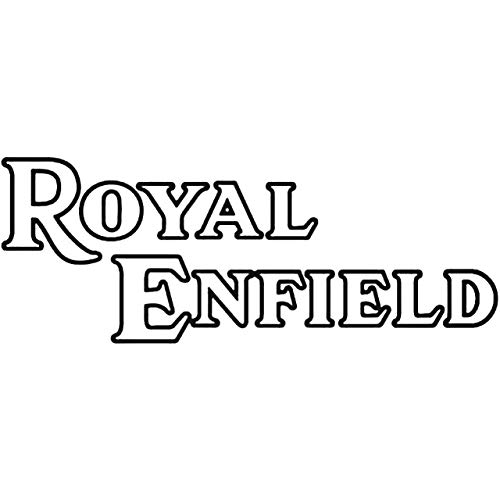 YWS Vinyl Stickers Decal - Royal Enfield Outline Aftermarket - Sticker Laptop Car Truck Window Bumper Notebook Vinyl Decal