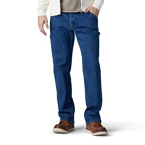 LEE Men's Performance Series Extreme Motion Loose Fit Carpenter Jean, Wilder, 29W x 30L Carpenter Loose Straight Jeans