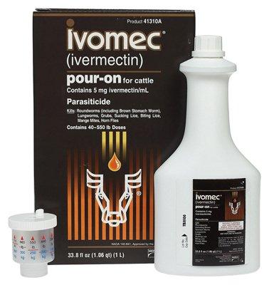 Animal Health International 250ml Ivomec Dewormer 18545633