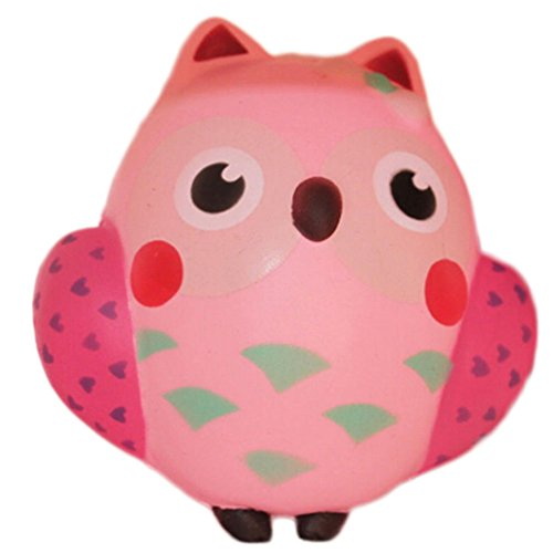 The Friendly Owl Key Bag (Pink) - 7